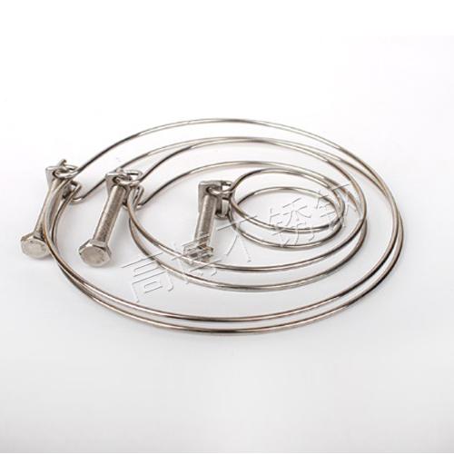 不锈钢双钢丝喉箍